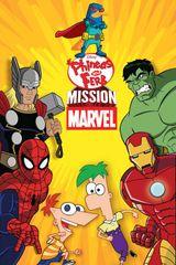 Affiche Phinéas et Ferb : Mission Marvel