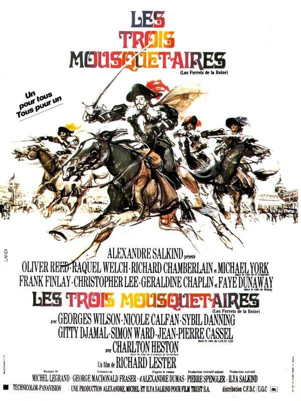 Les trois mousquetaires film 1973 senscritique for Les mousquetaires du meuble