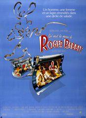Affiche Qui veut la peau de Roger Rabbit