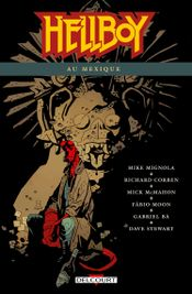 Couverture Hellboy au Mexique - Hellboy, tome 15
