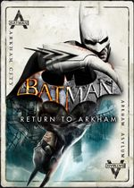 Jaquette Batman : Return to Arkham