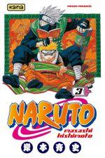 Couverture Naruto, tome 3