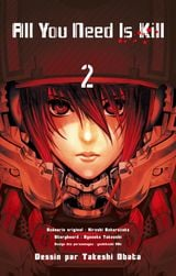 Couverture All You Need Is Kill, tome 2