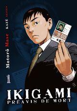 Couverture Ikigami : Préavis de mort