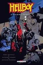 Couverture L'Homme tordu - Hellboy, tome 11