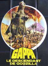 Affiche Gappa, le descendant de Godzilla