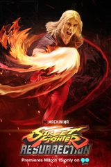 Affiche Street Fighter: Resurrection