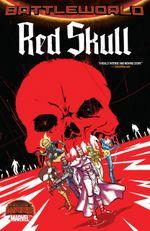 Couverture Red Skull : BattleWorld