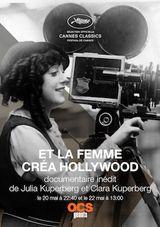 Affiche Et la femme créa Hollywood