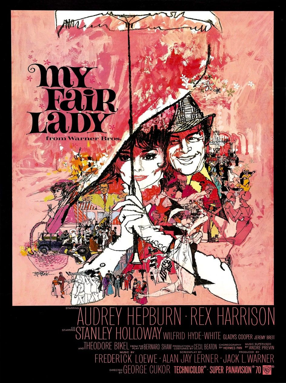 my fair lady film 1964 senscritique. Black Bedroom Furniture Sets. Home Design Ideas