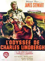 Affiche L'Odyssée de Charles Lindbergh