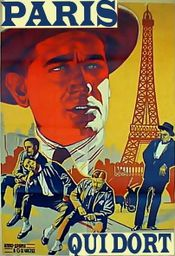 Affiche Paris qui dort