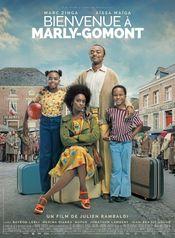 Affiche Bienvenue à Marly-Gomont