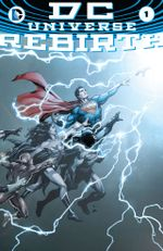 Couverture DC Universe Rebirth