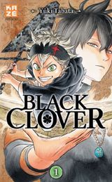 Couverture Black Clover, tome 1