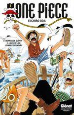 Couverture À l'Aube d'une grande aventure - One Piece, tome 1