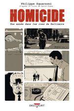 Couverture 18 janvier - 4 février 1988 - Homicide : une année dans les rues de Baltimore, tome 1