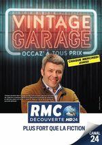 Affiche Vintage garage : Occaz à tous prix
