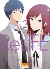 Couverture ReLIFE, tome 2