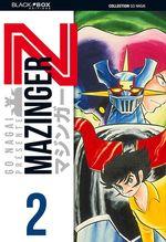 Couverture Mazinger Z, tome 2