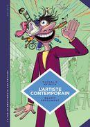 Couverture L'Artiste contemporain - La Petite Bédéthèque des savoirs, tome 9