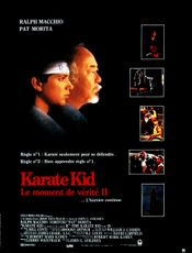 Affiche Karate Kid, le moment de vérité II