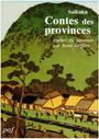 Couverture Contes des provinces