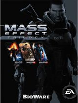 Jaquette Mass Effect Trilogy