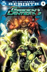 Couverture Green Lanterns (2016 - Present)