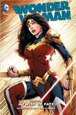 Couverture Wonder Woman Vol. 8: A Twist of Fate