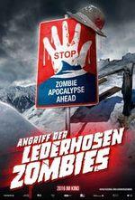 Affiche Les zombies font du ski