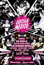 Affiche Lucha Mexico