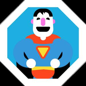 Illustration Superman