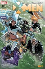 Couverture All-New X-Men, tome 1 (2016)