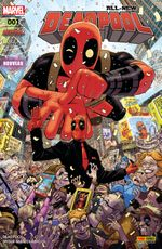 Couverture All-New Deadpool, tome 1 (2016)