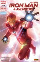 Couverture Reboot - All-New Iron Man & Avengers, tome 1