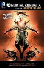 Couverture Mortal Kombat X Tome 3, Blood Island
