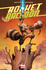 Couverture Il était un Groot ... - Rocket Raccoon (2014), tome 1