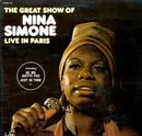 "Pochette The Great Show of Nina Simone ""Live in Paris"" (Live)"