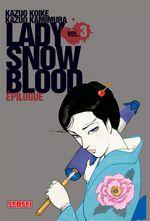 Couverture Lady Snowblood, tome 3