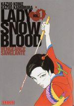 Couverture Lady Snowblood, tome 1