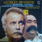 Pochette Georges Brassens joue avec Moustache et Les Petits Français - Joe Newman - Eddie Davis - Harry Edison - Cat Anderson - Dorothy D