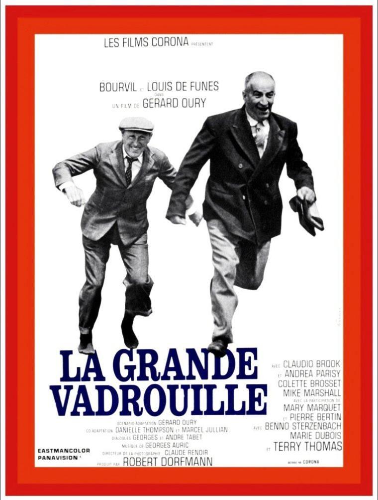 Affiches, posters et images de La Grande Vadrouille (1966)