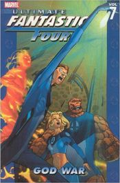 Couverture God War : Ultimate Fantastic Four, Volume 7