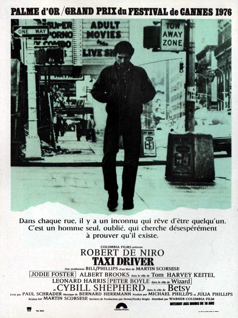 Affiches, posters et images de Taxi Driver (1976
