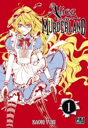 Couverture Alice in Murderland