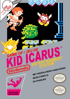 Jaquette Kid Icarus