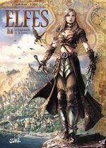 Couverture Le jugement de la fosse - Elfes , tome 14