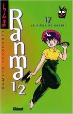 Couverture Le piège de Nabiki - Ranma 1/2, tome 17