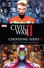 Couverture Civil War II : Choosing Sides